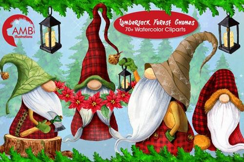 Christmas-Watercolor-Cabin-Gnomes.jpg