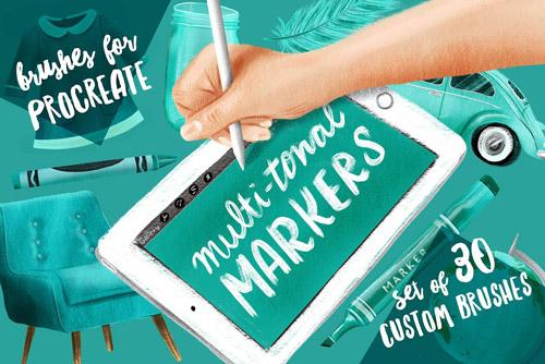 Multi-tonal Markers.jpg